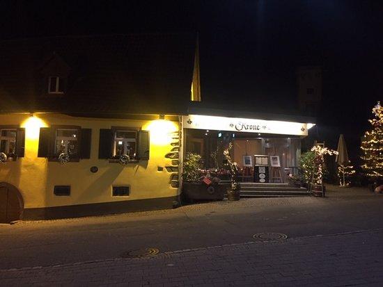 Achkarren, Jerman: Abendbeleuchtung