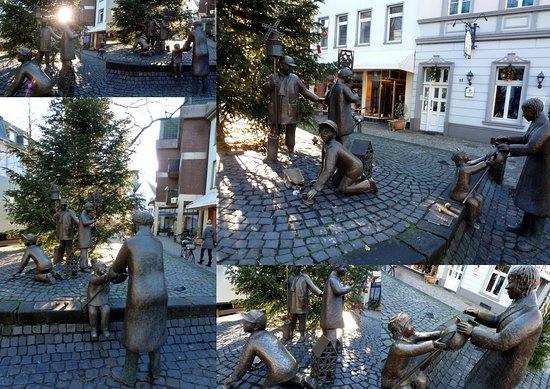 Die Martins-Skulptur
