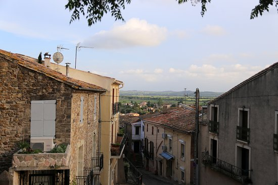 Neffies, France: The view from the terrace.