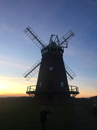 Thaxted, UK: Taken as sun was going down