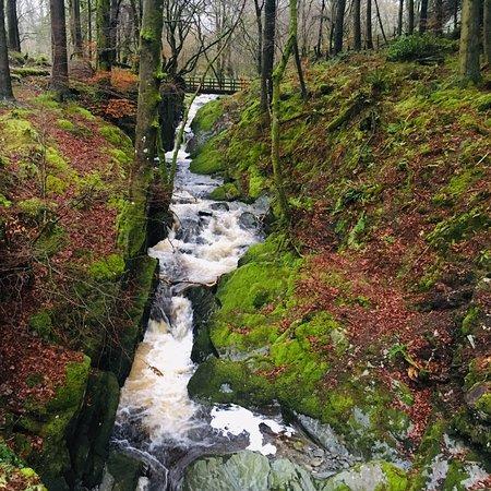 Devil's Bridge (Pontarfynach) ภาพถ่าย