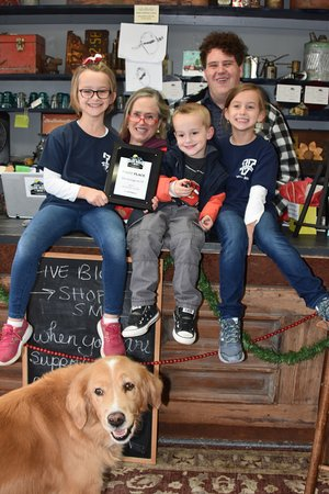 """Fletcher, NC: Family atmosphere - Showing off """"Best of Blue Ridge"""" Store award for 2018!"""