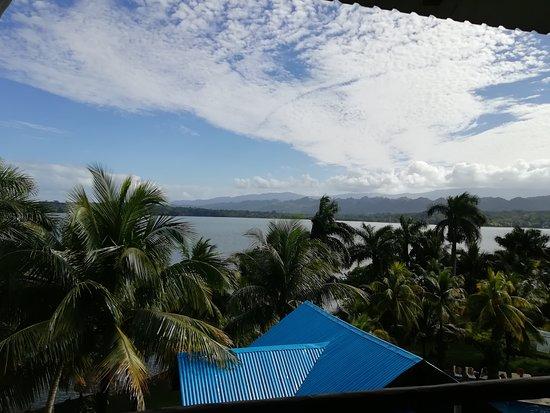 Hotel Villa Caribe: Vista desde habitación
