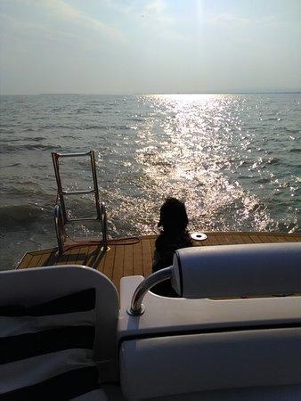 """Oggau am Neusiedler See, Австрия: Wir und unser """"Seehund"""" auf dem Weg zum Heimathafen"""