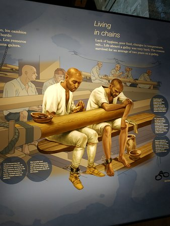 A história cruel da vida dos marinheiros/escravos