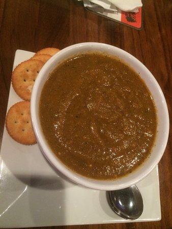 Tomatoe basil soup