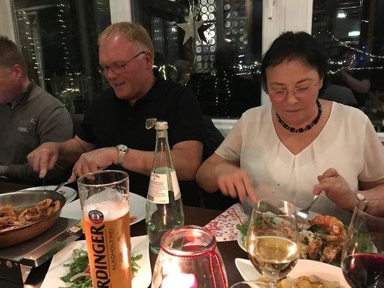 Geldern, Germany: Alle sind mit dem Essen sehr zufrieden