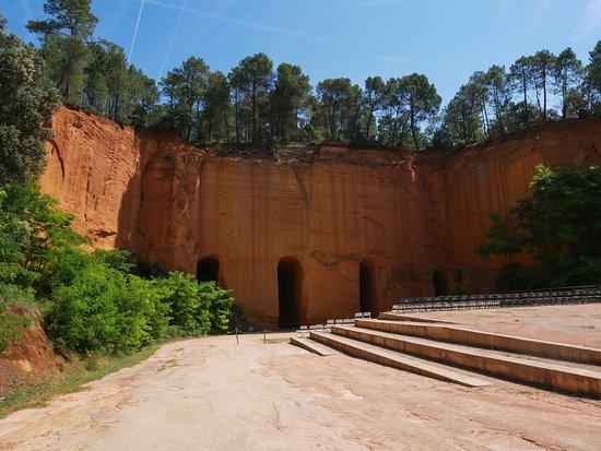 Gargas, France: Mines d'ocre !