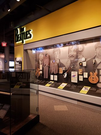‪‪Rock & Roll Hall of Fame‬: The Beatles, as you might guess, get a good deal of coverage‬