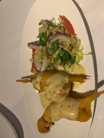 Joe Muer Seafood: Lobster corndogs
