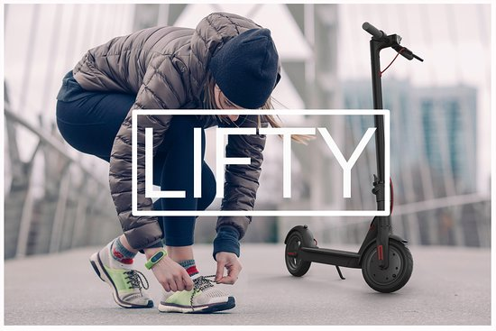 Lifty Electric Scooter rentals