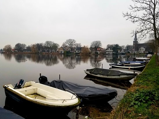 Broek in Waterland, The Netherlands: Boats on the water