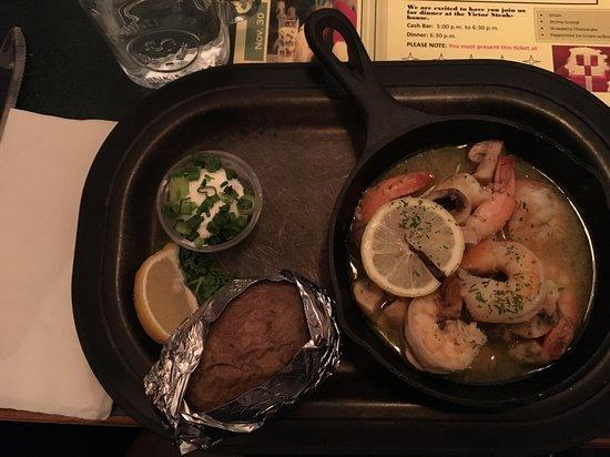 Shrimp Scampi, Victor Steakhouse