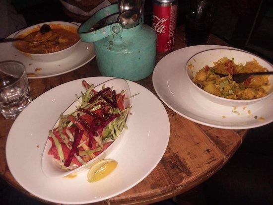 Helloboho Lake side Restaurant: Beautiful Salad