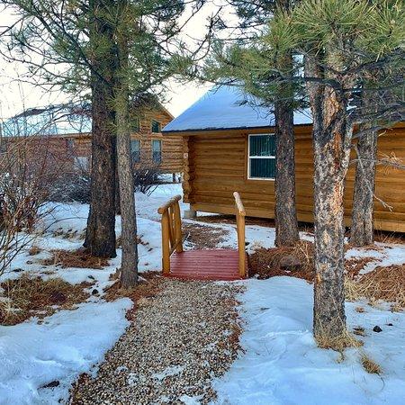 Winter beauty, Smokey wood stove