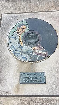 Gennett Walk of Fame: Walk of Fame -Jelly Roll Morton