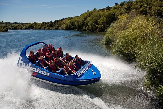 Taupo Adventure Combo: Jet Boat Ride