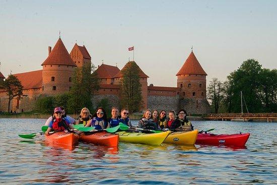 Half-Day Scenic Kayak Tour in Trakai