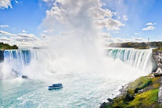 Giro del giorno delle cascate del
