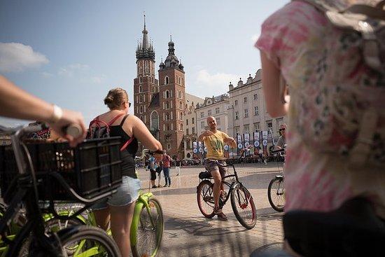 Krakow Bike Tour av gamlebyen...