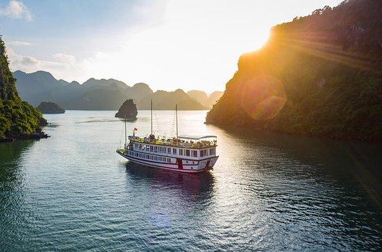 Overnight Halong Bay Cruise on the...