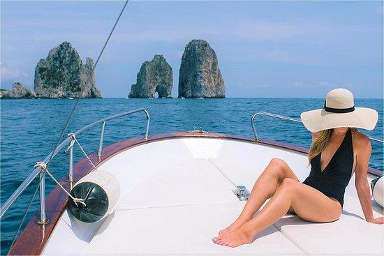 Capri Island Boat Ride with Swimming...