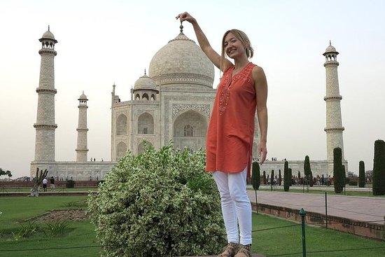 Full dagstur til Taj Mahal - Agra fra...