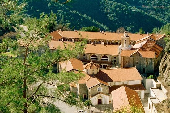 Kykkos kloster og Kakopetria Village...