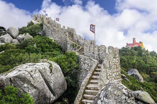 Sintra: el Castillo de los Moros, con...