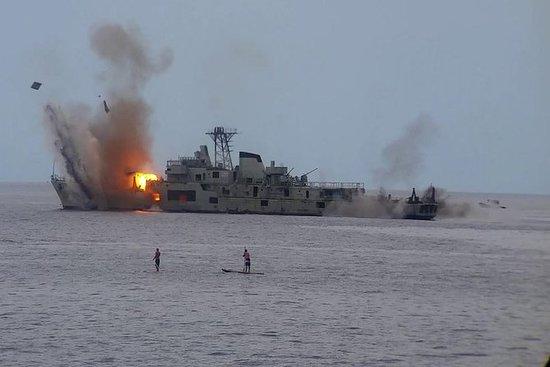 SCUBA DIVING / EXPLORE THE WAR SHIP