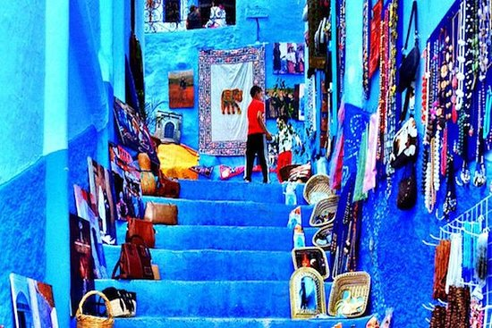 day trip fes to chefchaouen