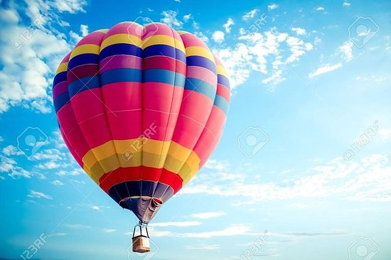 Varmluftsballong Livet i Luxor Egypt