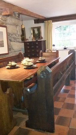 Llanfor, UK: Dining area in Melin Meloch now as Otters Mill with holiday cottages.com