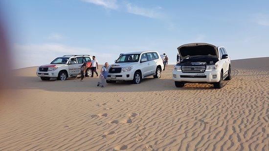 Half-Day Desert Safari from Abu Dhabi: Safari time