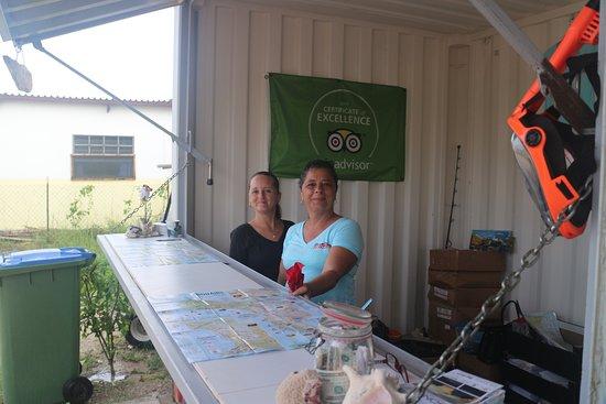 Staff at Bonaire Cruisers