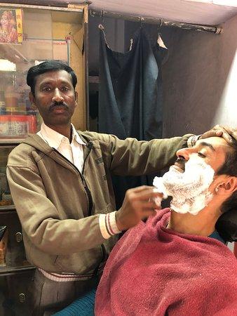 Bundi shave with Arjun
