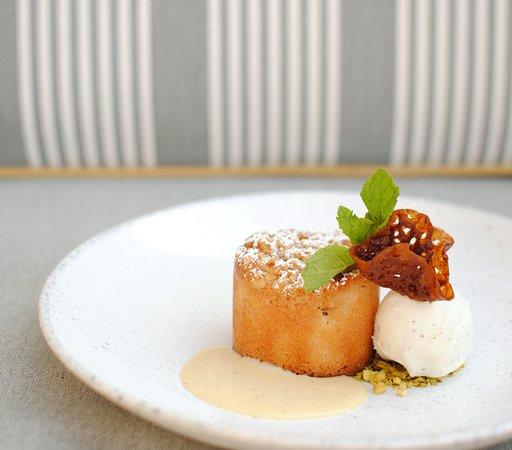 Warm Brown Butter Apple Tart