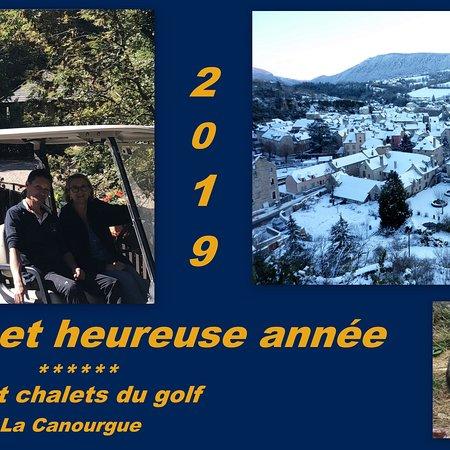 La Canourgue, Francie: Le team camping & chalets du golf