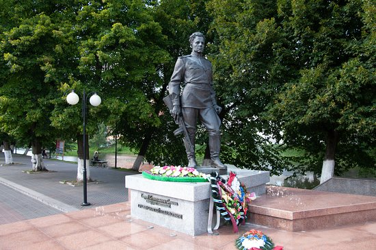 Monument to  S.I. Gusev