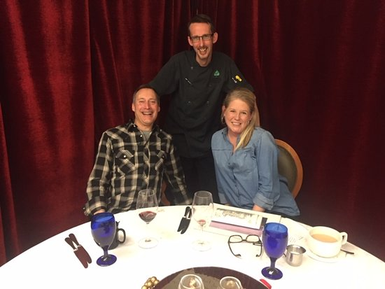 A great dinner with Chef Mark Millman at Chateau Grille!