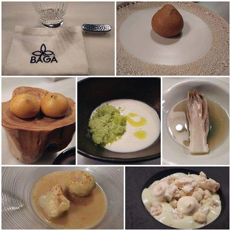 Buñuelo, ajoblanco, endivia, coliflor...