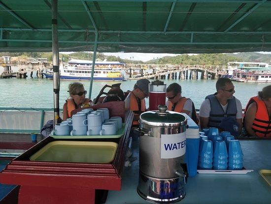 Andaman Sea Kayak: Boat