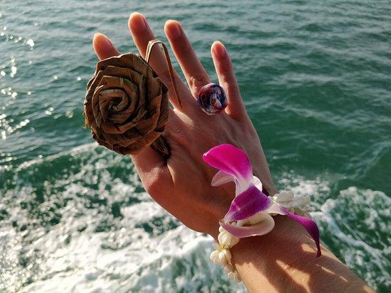 Andaman Sea Kayak: Our guide made us something