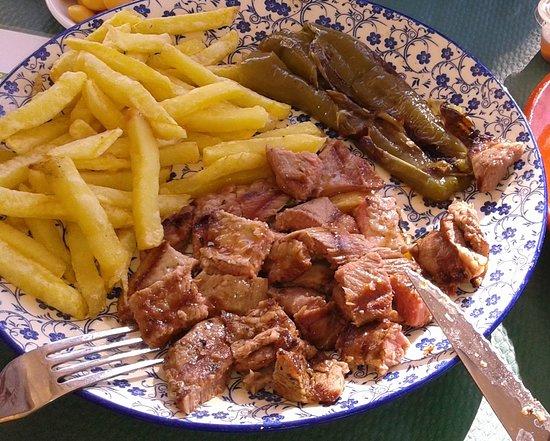 Villablanca, España: Presa paleta de cerdo ibérico.