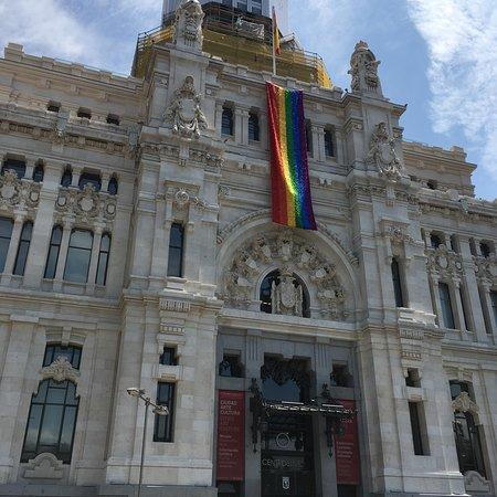 مجتمع مدريد صورة فوتوغرافية