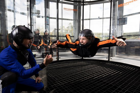 Taastrup, Denmark: Indoor skydiving - everybody can fly!