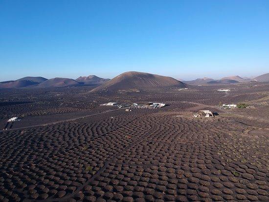 La Geria, Spanyol: drone