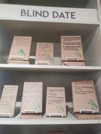 """Take a chance on a """"blind date"""" with a wrapped up book!"""