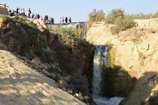 Zich op de watervallen