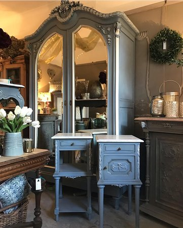 Glebe House Vintage: We source beautiful furniture from France,which is then  hand painted in Annie Sloan Chalk paint.